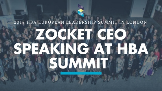 ZOCKET to Speak at the 2017 HBA European Leadership Summit