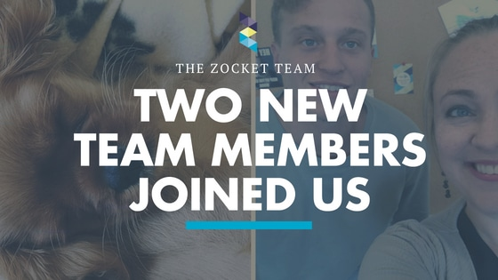Two new faces join the Zocket team
