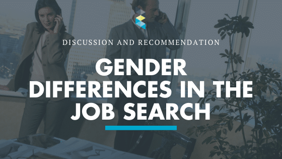 Four Major Difference Between Women and Men in the Job Search