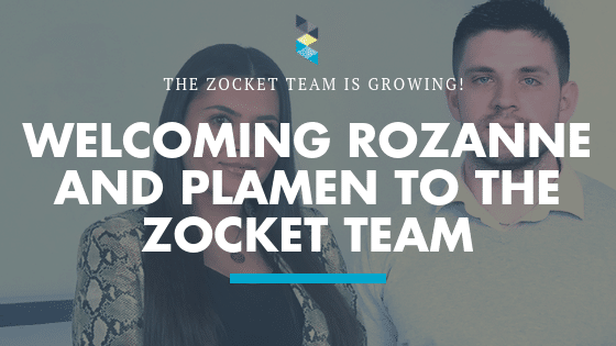 Welcoming Rozanne and Plamen to the Zocket Team