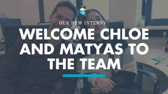 Welcome Chloe and Matyas to the Zocket Team